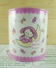 【震撼精品百貨】Hello Kitty 凱蒂貓~圓形存錢鐵筒~粉寶寶