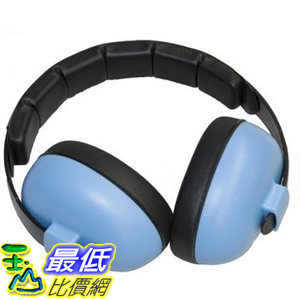[2美國直購] [請備註寶貝年齡] 兒童防噪音耳罩 淺藍色 Baby Banz Infant Hearing Protection Earmuff