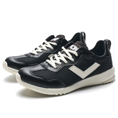 PONY SOHO+ 黑 奶油 軟墊 輕量 休閒鞋 (布魯克林) 73W1SQ61BK