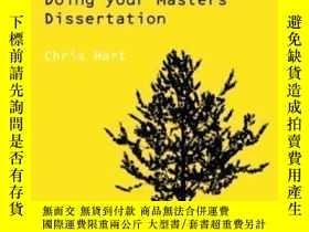二手書博民逛書店Doing罕見Your Masters Dissertation (essential Study Skills