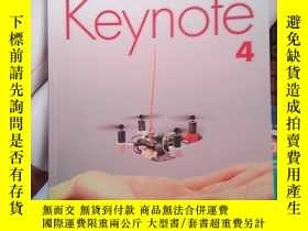 二手書博民逛書店學而思國際罕見Keynote.4 有字跡Y14465