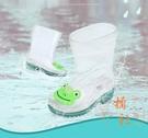 兒童卡通水鞋防滑防水雨鞋【橘社小鎮】