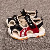 夏季新款涼鞋男女兒童包頭沙灘涼鞋卡通機能涼鞋1-2-3歲寶寶學步 〖korea時尚記〗