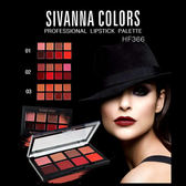 Sivanna HF 366 新潮8色唇彩盤(8g) 3款可選【小三美日】