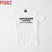 A&F Abercrombie & Fitch A&F A & F 男 T-SHIRT R982