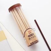 ♚MY COLOR♚原木桶裝HB鉛筆(六角30支) 學校 辦公 文具 削筆 實用 學生 上課 上班【P222】