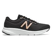 New Balance 411v2 D 女鞋 慢跑 輕量 緩衝 耐磨 黑【運動世界】W411LB2