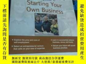 二手書博民逛書店Starting罕見Your Own Business《開始你自