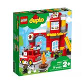 10903【LEGO 樂高積木】得寶幼兒系列  Duplo -消防局 (76pcs)
