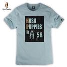 Hush Puppies T恤 男裝字母燙箔設計T恤