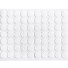 圓型雙面膠SG743(70枚入) 居家亞克力無痕透明雙面膠創意圓形超粘強力膠片貼