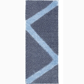 【日本製】【和布華】 日本製 注染拭手巾 深藍色 粉雪圖案 SD-5185 - 和布華