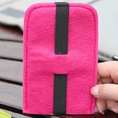 ✭慢思行✭ 【P185】羊毛氈手機保護套 時尚 可愛 精品 防撞 防摔 多功能  手機包 不織布