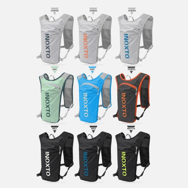 台灣現貨 當天寄出 INOXTO 140克越野跑步背包 水袋 戶外騎行包 越野水袋包 運動背包 馬拉松 跑步