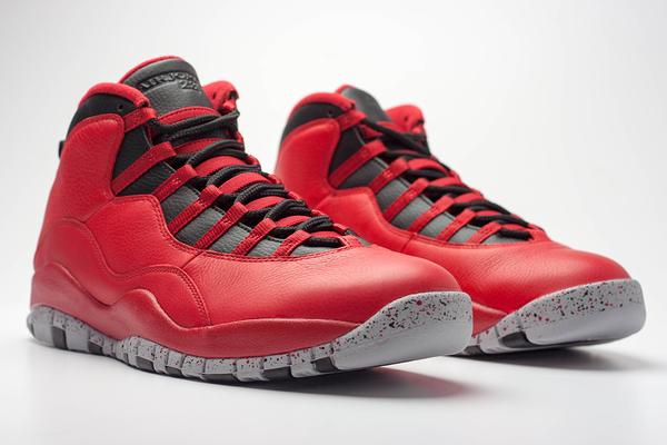 【蟹老闆】Air Jordan 10 bulls on broadway instakicks  10代 黑紅 男鞋
