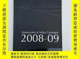 二手書博民逛書店BUTTERWORTHS罕見& TOLLEY CATALOGUE 2008Y11016 外文 外文 出版20
