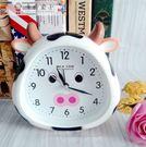 限時8折秒殺鬧鐘學生小鬧鐘創意鬧鐘可愛卡通小牛鐘錶床頭定時起床鐘