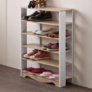 【TZUMii】小清新雙色開放鞋架/鞋櫃