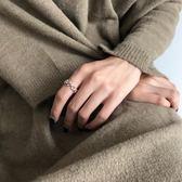 戒指冷淡風星星女日系個性潮人學生戒子食指【聚寶屋】