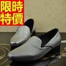 休閒皮鞋創意原創-明星同款夜店街頭奢華樂福男鞋子3色59p45【巴黎精品】