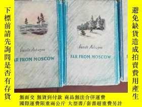 二手書博民逛書店Far罕見from Moscow 遠離莫斯科(1950年英文原版