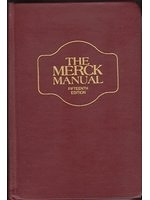 二手書博民逛書店 《Merck Manual Diagnosis & Therapy》 R2Y ISBN:0911910069│RobertBerkow