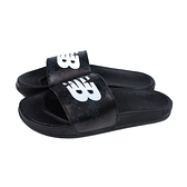 NEW BALANCE 運動拖鞋 黑色 小方格 戶外 男鞋 SMF200BW-D no939