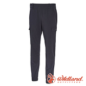 【wildland 荒野】女 彈性貼袋束口休閒褲『深霧灰』0A71339 戶外|登山|休閒|彈性|抗紫外線