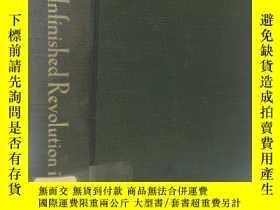 二手書博民逛書店1949年英文 革命尚未成功罕見the unfinished r