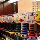 馬克杯-彩繪高腳杯時尚個性冰淇淋杯咖啡杯香檳紅酒杯創意陶瓷杯子【全館免運】