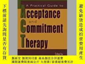 二手書博民逛書店A罕見Practical Guide To Acceptance And Commitment Therapy