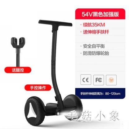 電動平衡車 成年手控腿控雙輪代步車 時尚智慧體感平行車 CJ4588『毛菇小象』