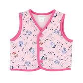 【愛的世界】溜冰小女童純棉舖棉兩面穿背心/6M~2歲-台灣製- ★幼服推薦