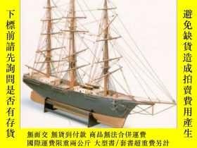 二手書博民逛書店Ship罕見Models: How to Build Them (Dover Woodworking)-船模:如何