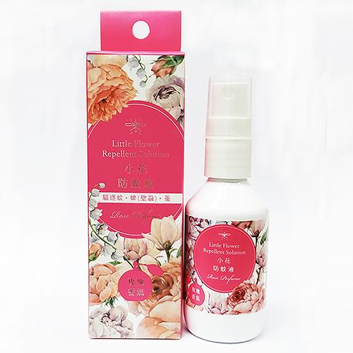 【正和不叮】小花防蚊液-1瓶 (50ml/瓶) -含敵避(DEET)-玫瑰香