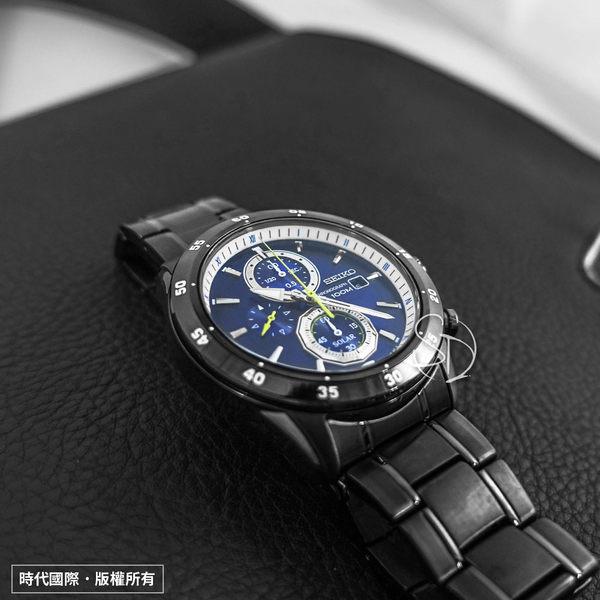 SEIKO SSC543P1 Criteria 極速狂風太陽能計時腕錶 V176-0AR0SD