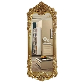 歐式豪華穿衣鏡落地全身試衣鏡奢華時尚壁掛鏡歐式鏡復古理發鏡子