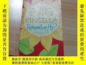 二手書博民逛書店SOPHIE罕見KINSELLA Remember Me?Y24