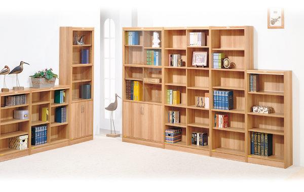 【IS空間美學】白胡桃色六段玻璃雙門櫃