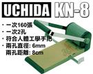 內田牌 UCHIDA KN-8 2孔 二孔 雙孔 兩孔打孔機