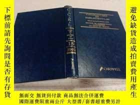 二手書博民逛書店CANADIAN罕見CASES ON EMPLOYMENT LAW 2002(加拿大雇傭法案例)Y200392