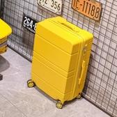 行李箱26寸ins網紅女密碼箱旅行箱男20學生子母箱皮箱子拉桿箱 全館免運 快速出貨