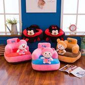 兒童沙發寶寶餐桌椅嬰兒學坐沙發卡通可愛迷你小沙發安全靠背座椅「輕時光」