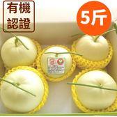 (7/15陸續出貨)【預購】溫室栽培·有機美濃瓜5斤(約5~12顆)