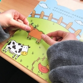 兒童貼紙書0-3-4-6歲粘貼貼紙 寶寶動腦貼貼畫益智玩具卡通貼畫書