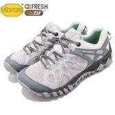Merrell 戶外鞋 All Out Blaze Aero Sport 水陸運動鞋 越野 登山 灰 綠 休閒鞋 女鞋【PUMP306】 ML12724