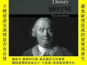 二手書博民逛書店【罕見】Hume s Aesthetic Theory: Sen