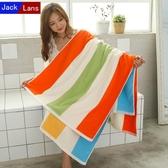 浴巾純棉成人柔軟個性大號沙灘巾速干超強吸水情侶浴巾