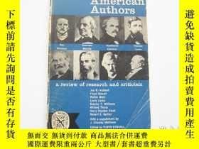 二手書博民逛書店英文原版罕見Eight American AuthorsY23801