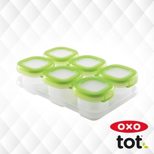 美國OXO 副食品保鮮冷凍分裝盒/保鮮盒(60ml)